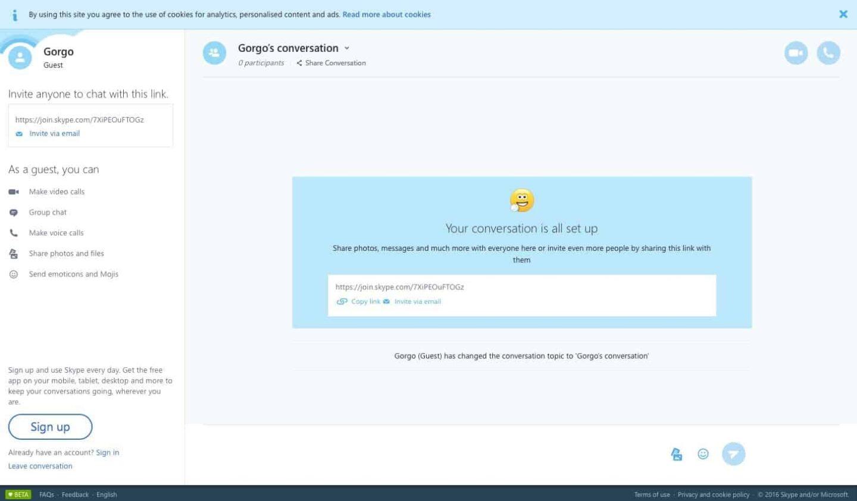 Webes Skype: csevegés regisztráció és telepítés nélkül   Techwok.hu