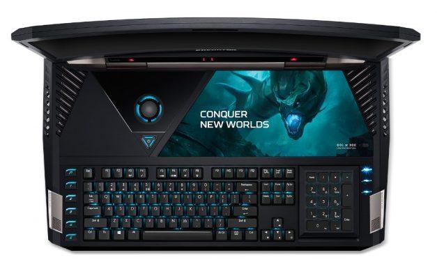 Acer Predator 21 X: az ívelt képernyős laptop