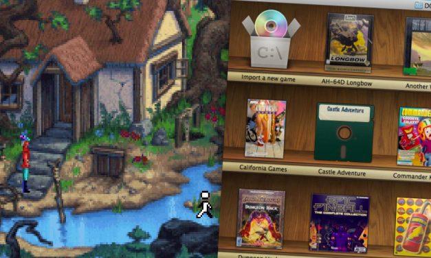 DOS játékok Macen, néhány mozdulattal