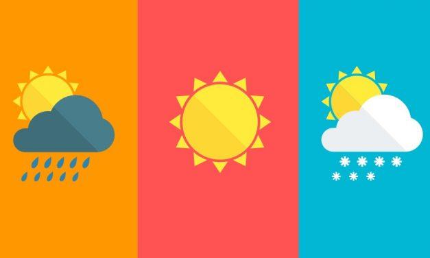 TOP 4: a négy legjobb időjárás előrejelző program