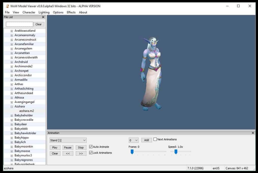 World of Warcraft karakterek exportálása 3D modellként | Techwok.hu