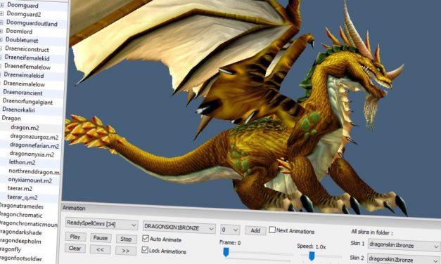 World of Warcraft karakterek exportálása 3D modellként