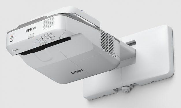 Ultrarövid vetítési távolságú projektorok az Epsontól