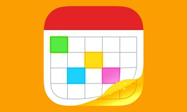 Átlátható és praktikus naptár app iPadre és iPhone-ra