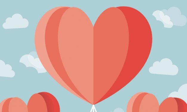 Valentin napi üdvözlőkártya készítése egyszerűen