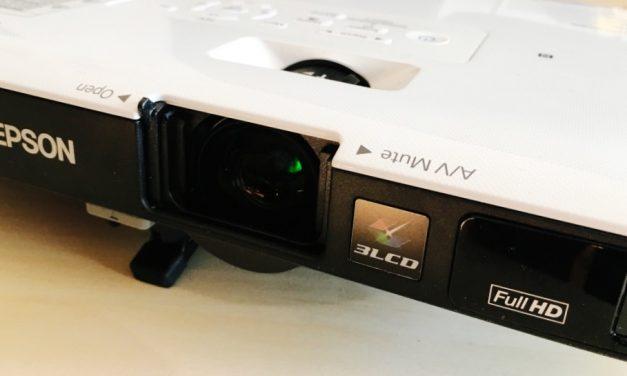 Epson EB-1795F: a projektor, amely elkényeztet