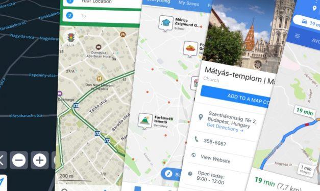 A legjobb offline térkép appok iPhone-ra