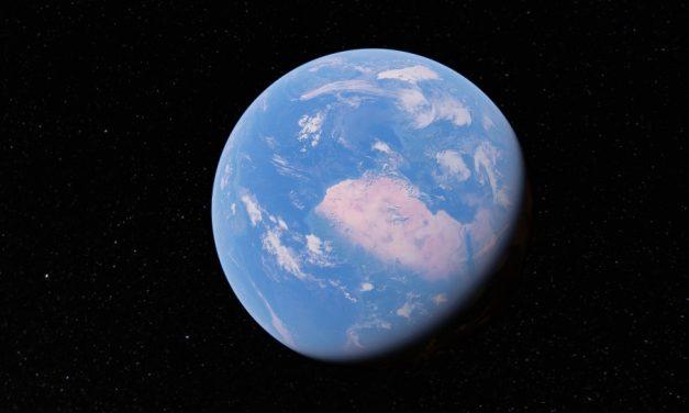 Ráncfelvarrás: megújult a Google Earth 3D földgömb
