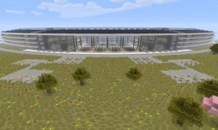 Itt az Apple Park videón, Minecraft megközelítésben