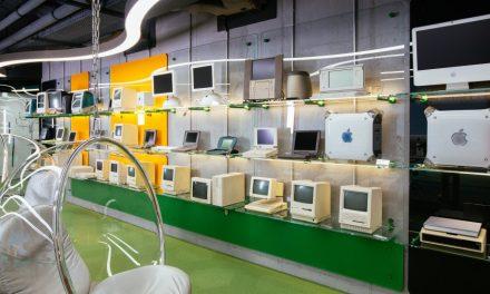 MacPaw Múzeum galéria: régi Apple gépek