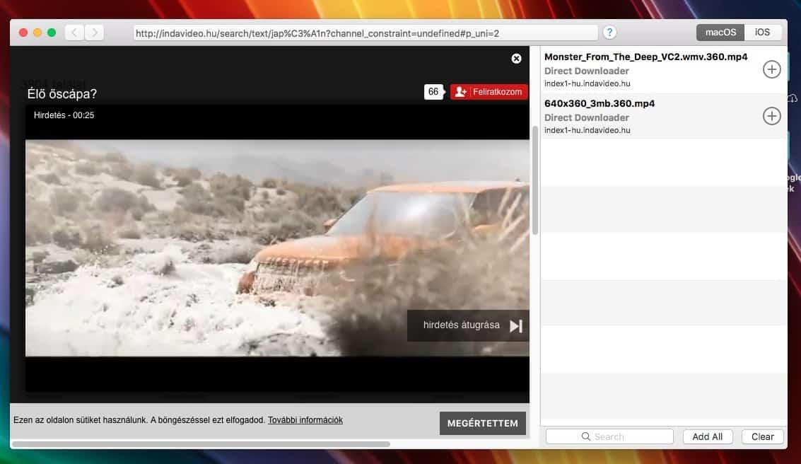 Videók és filmek letöltése gyorsan, szinte bárhonnan | Techwok.hu