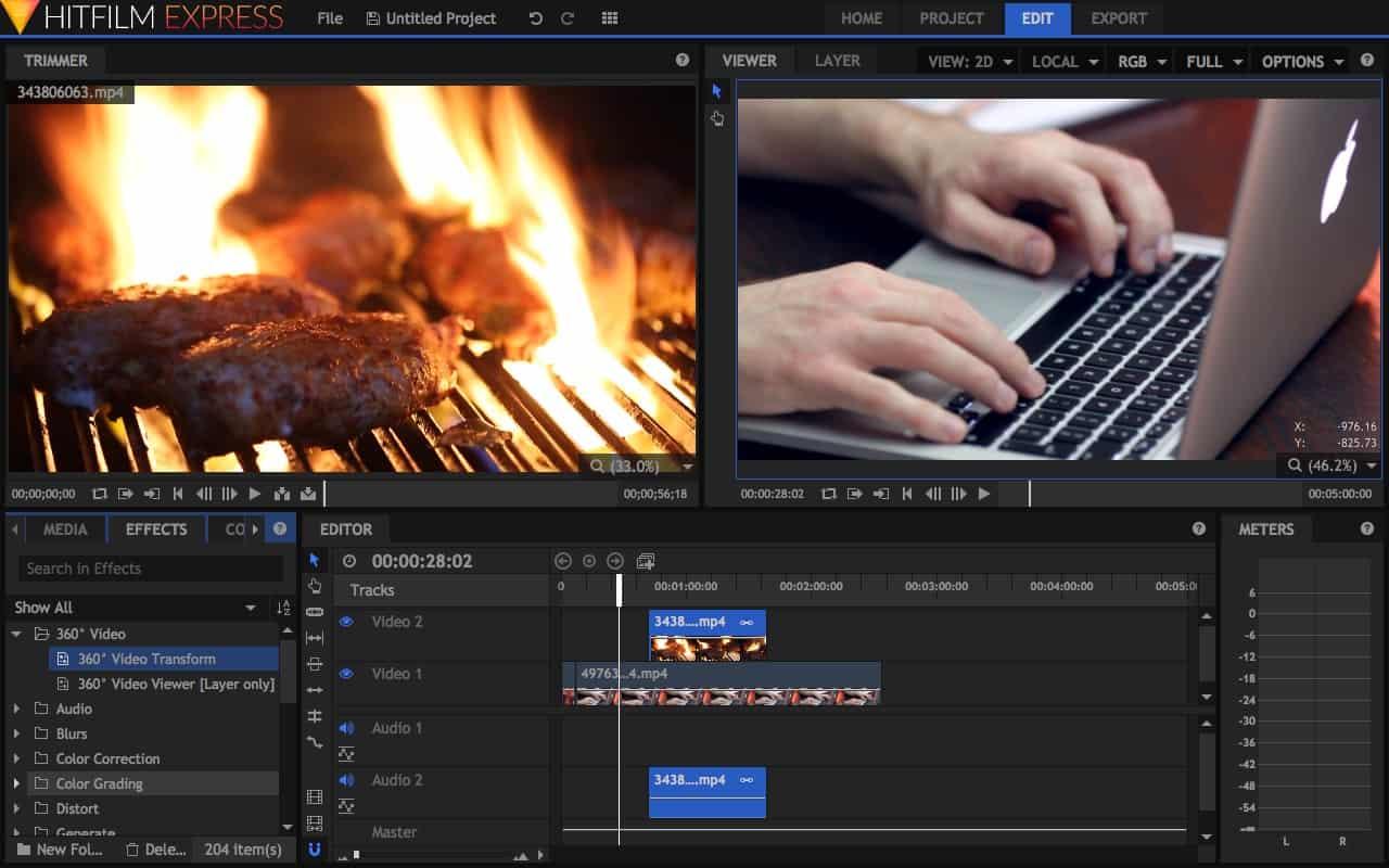Profi minőségű, mégis ingyenes videoszerkesztő szoftver | Techwok.hu