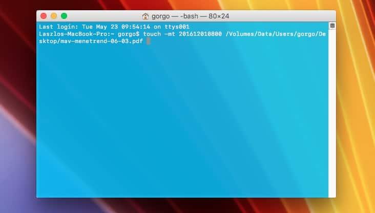 Fájlok dátumának módosítása Windowson és Macen | Techwok.hu
