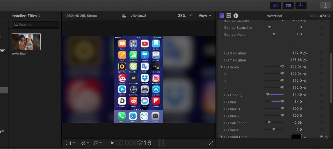 Látványos, mozgó háttér álló formátumú videókhoz, ingyen | Techwok.hu