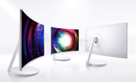 Samsung CH711: WQHD felbontású hajlított monitor