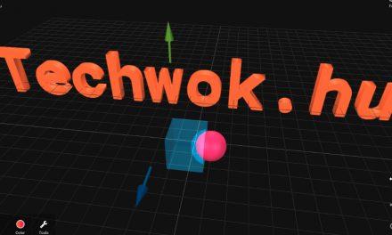 3D objektumok készítése egyszerűen, ingyen
