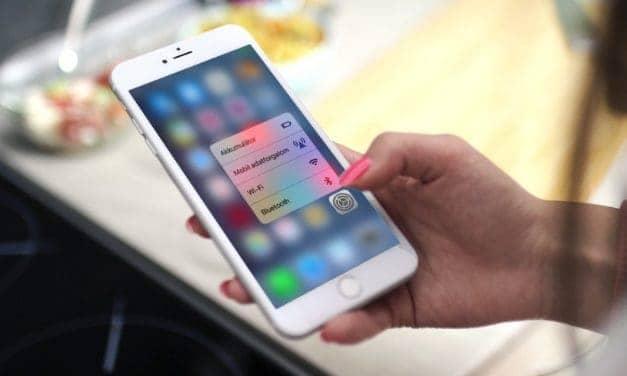 Kevésbé ismert, de hasznos iPhone 3D Touch funkciók