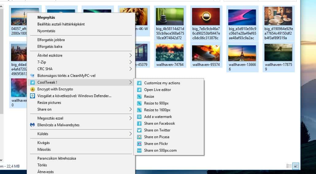 Képek csoportos átméretezése a Windowsban | Techwok.hu