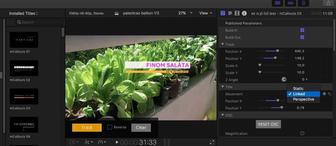 Mozgást követő feliratok készítése videókra, egyszerűen | Techwok.hu
