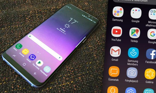 Samsung Galaxy S8 teszt: mindent uraló kijelző