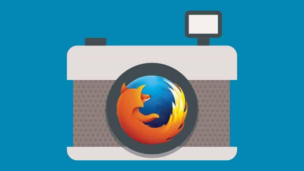 Teljes weboldalak fotózása Firefoxban, egyszerűen