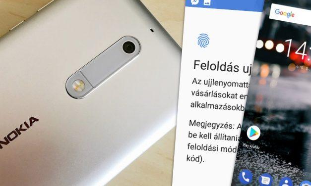 Nokia 5 gyorsteszt: középmezőnyben remek