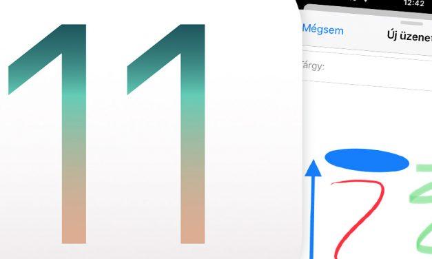 iOS 11 tipp: rajzolás a Mail alkalmazásban