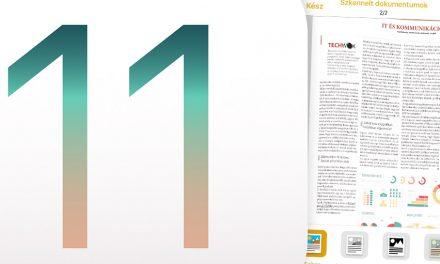 Dokumentumok szkennelése iOS 11 alatt, a Jegyzetek appban