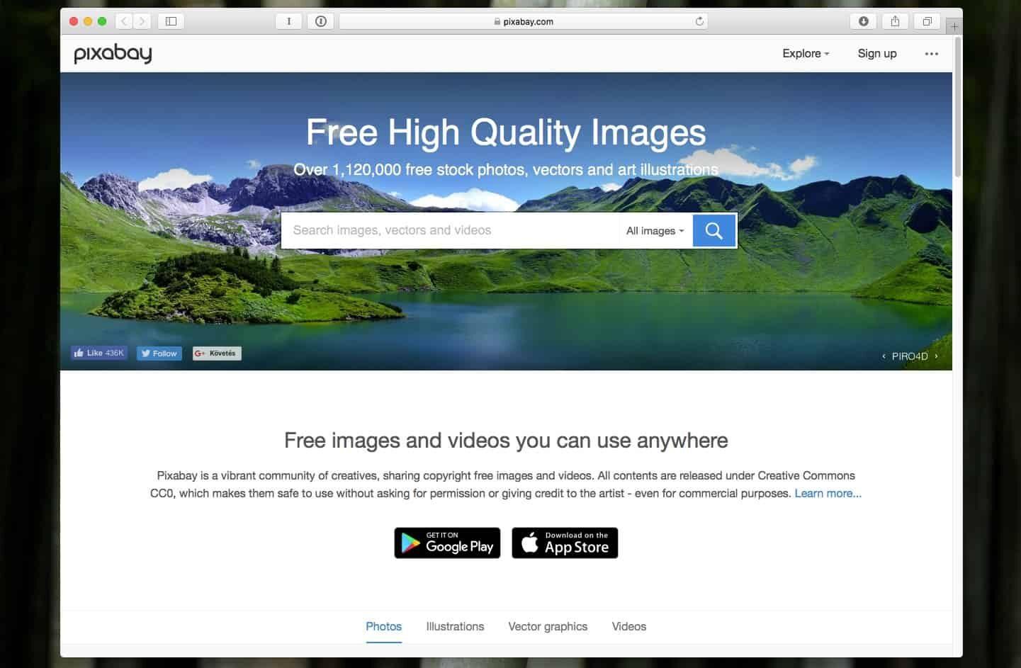 A legjobb weboldalak szabadon felhasználható képek letöltéséhez   Techwok.hu