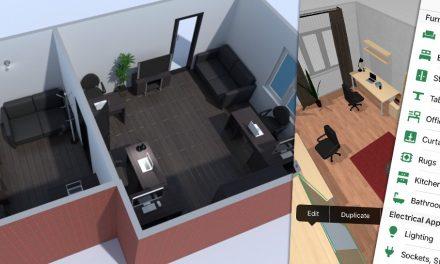 Lakás- és szoba tervező program webre, okostelefonra, tabletre