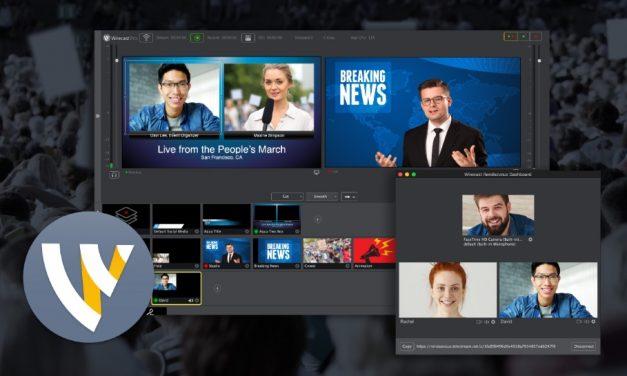 Wirecast 8: élő közvetítés Youtube-on és más csatornákon