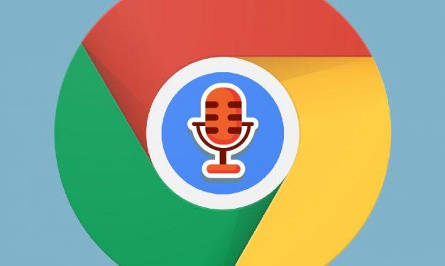 Szöveg diktálása online a Chrome-ban, telepítés nélkül