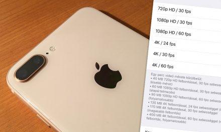 iPhone 8 Plus: apró lépésekkel előre