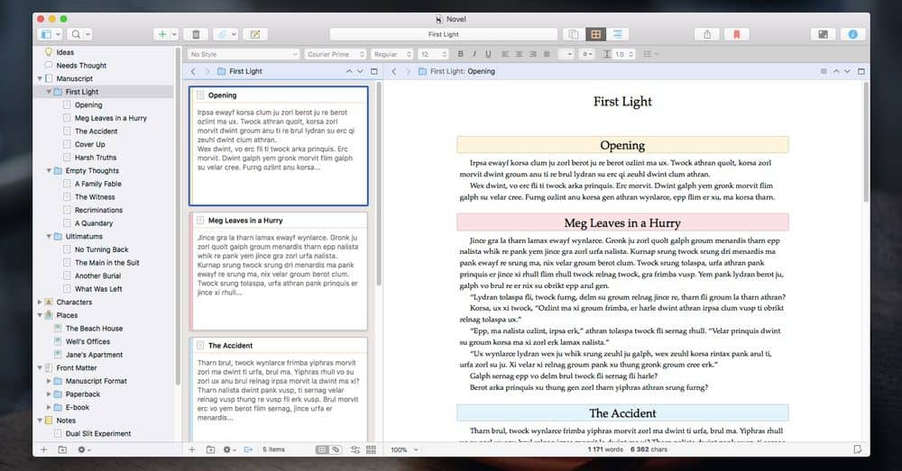 Scrivener 3: tökéletes digitális íróeszköz | Techwok.hu