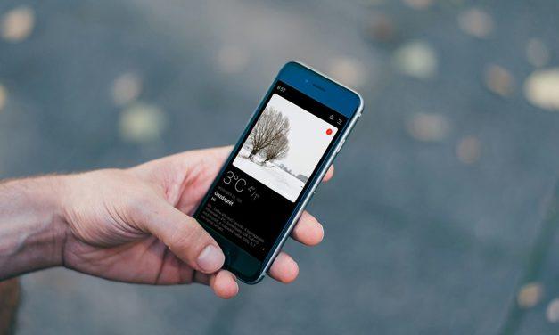 Látványos és sokoldalú időjárás app okostelefonokra