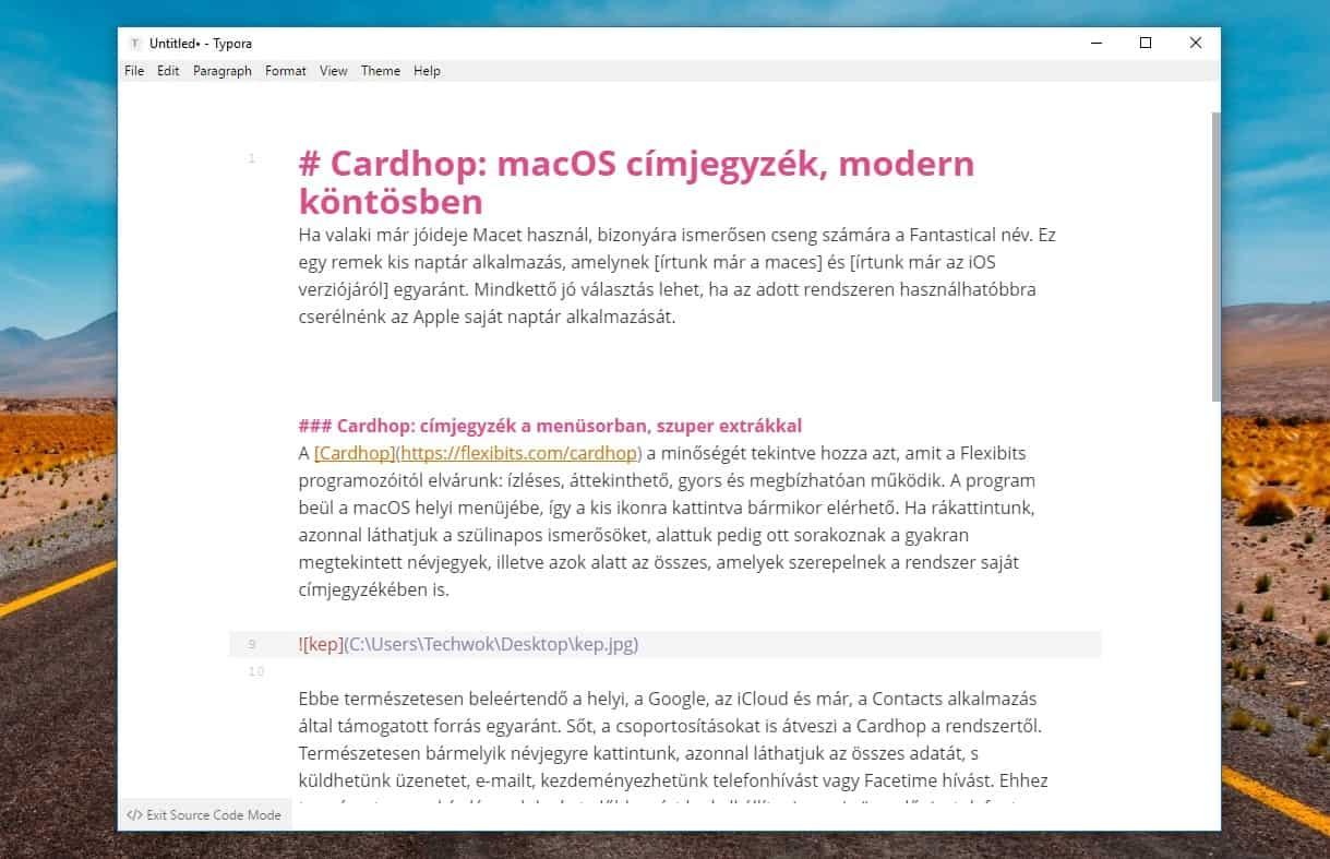 Markdown szöveg konvertálása formázott Word dokumentummá | Techwok.hu