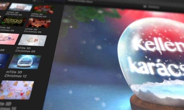 Téli és karácsonyi videók készítése egyszerűen, profi minőségben