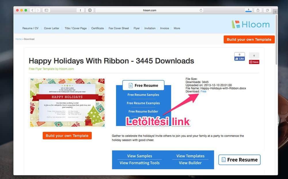 önéletrajz szerkesztése wordben Látványos karácsonyi üdvözlőkártyák készítése Wordben   Techwok önéletrajz szerkesztése wordben